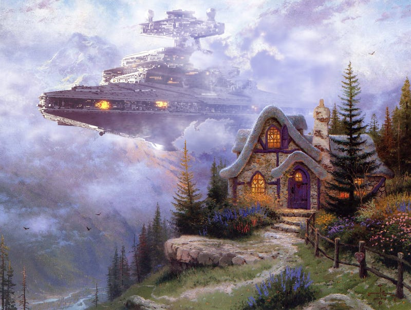 Image result for kinkade star wars
