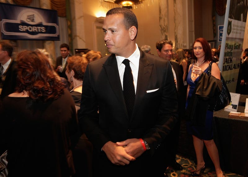 Illustration for article titled Alex Rodriguez Is Not Comfortable In His Own Skin: A Gallery