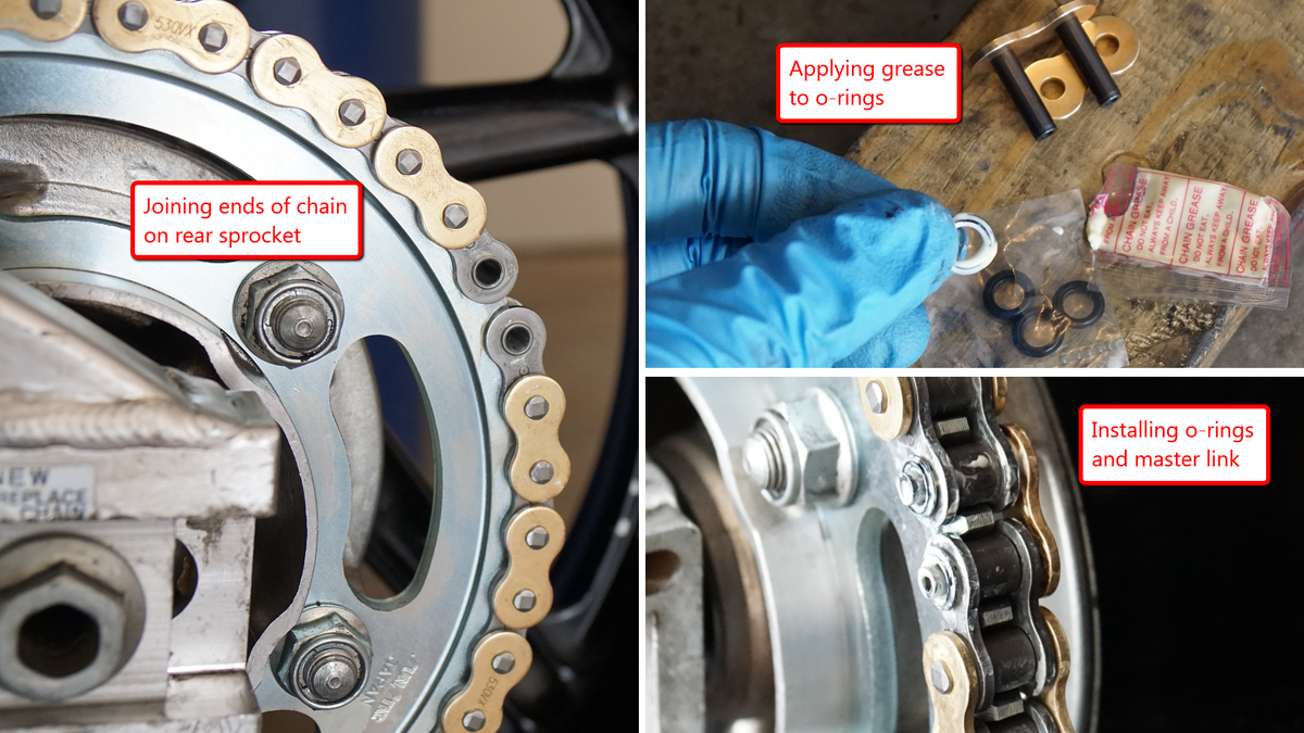 Here's How To Replace A Motorcycle Chain