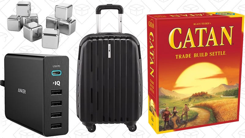 Illustration for article titled Today's Best Deals: Luggage, Board Games, Anker USB-C Gear, and More