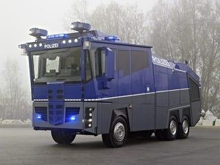 Illustration for article titled $1.3 Million Mercedes WaWe10: A Riot Cop's Wet Dream