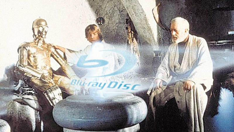 Illustration for article titled Star Wars Blu-rays On Sale September 27th, Says Amazon