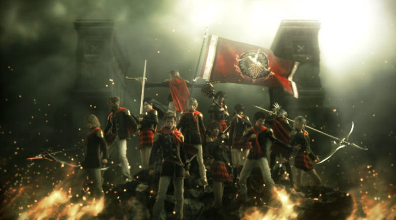 Illustration for article titled Final Fantasy Type-0 English Fan Translation Patch Now Available
