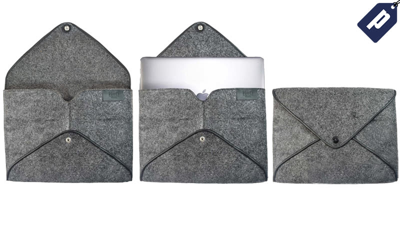 Illustration for article titled Save 50% And Protect Your LaptopWith This Envelope-Style Felt Case ($20)