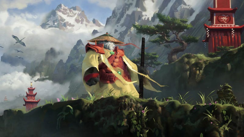 Illustration for article titled Live at the World of Warcraft Mists of Pandaria Preview Panel