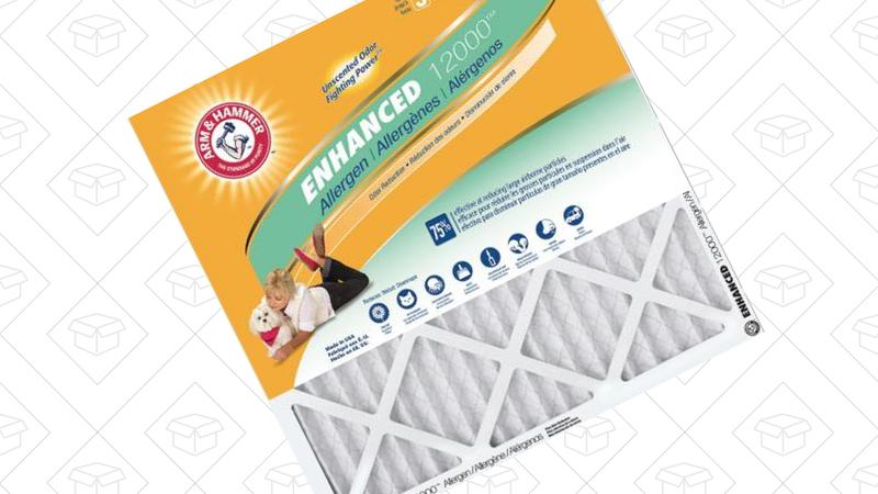 Arm & Hammer Air Filters, 12-Packs | $54 | Home Depot