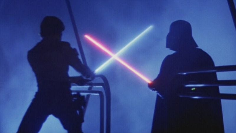 Illustration for article titled Lucasfilm hunts down, attempts to destroy rogue Lightsaber Academy