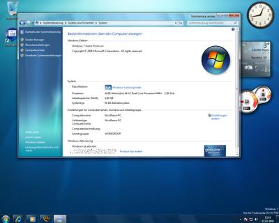 windows 7 home premium oa acer group iso