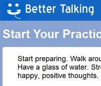 Illustration for article titled Better Talking Lets You Practice And Review for Interviews