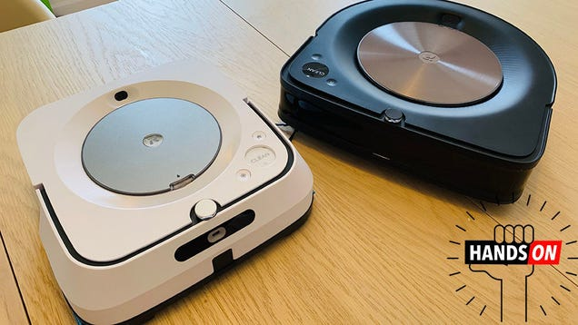 If You re a Zillionaire Neat Freak, iRobot s New Roomba and Mop Bot Are a Dream Come True
