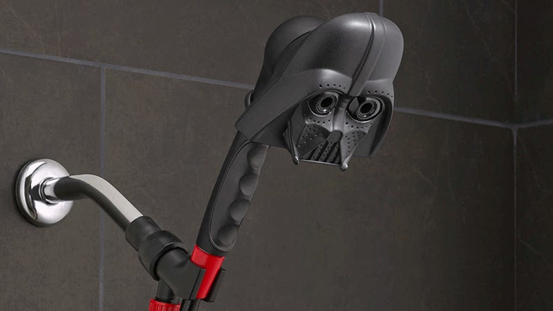 star wars showerheads let you bathe in vaderu0027s tears - Showerheads