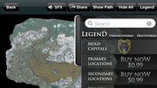 Illustration for article titled New Skyrim App Brings 'Free-To-Play' To Cartography