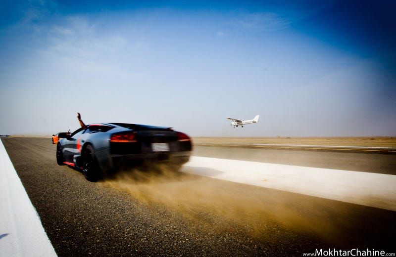 Illustration for article titled Lamborghinis and Planes in Saudi Arabia