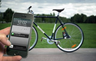 Illustration for article titled The Internet of Bikes: This Smart Lock Lets You Track and Share Rides