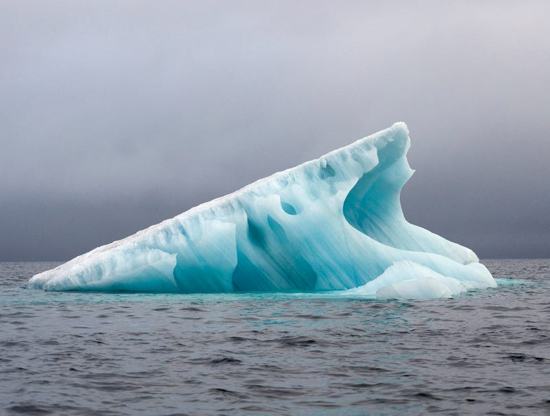 Illustration for article titled Iceberg Sighs Contentedly As It Slowly Lowers Itself Into Warm Arctic Water