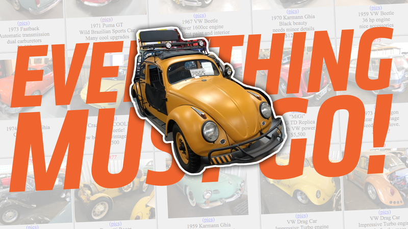 Illustration for article titled A Huge Air-Cooled Volkswagen Museum in Puerto Rico Is Selling Everything Right Now
