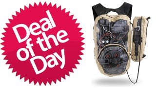 Illustration for article titled This Ghostbusters Backpack Is Your Who-Ya-Gonna-Call Deal of the Day