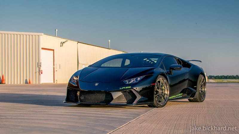 Illustration for article titled Photoshoot: Lamborghini Huracan twin turbo