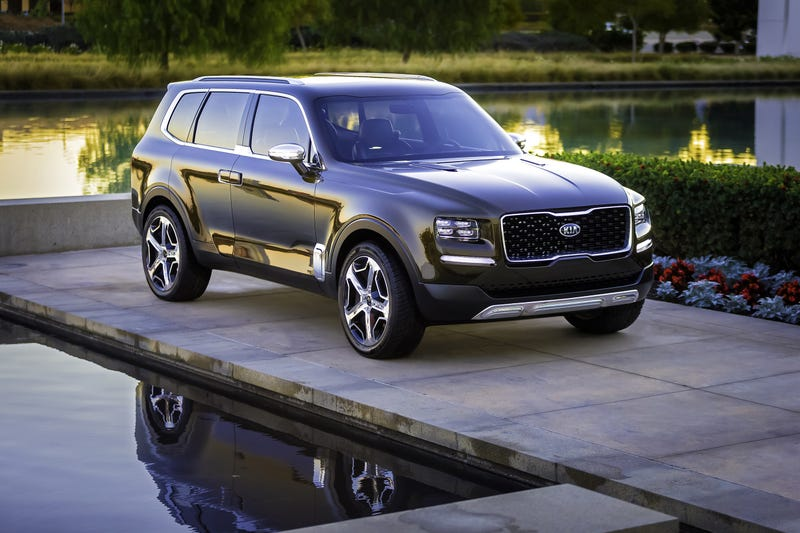 Illustration for article titled Kia Telluride Confirmed for Production and Likely to Replace K900 Flagship in North America