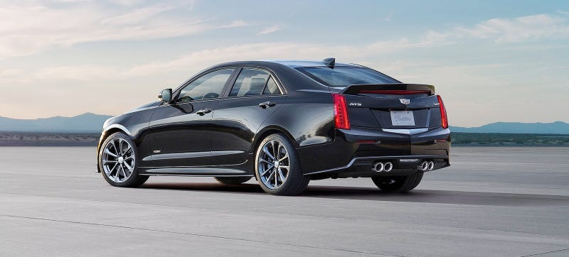Illustration for article titled The 2016 Cadillac ATS-V Will Do Your BMW Fighting Starting At $61,460