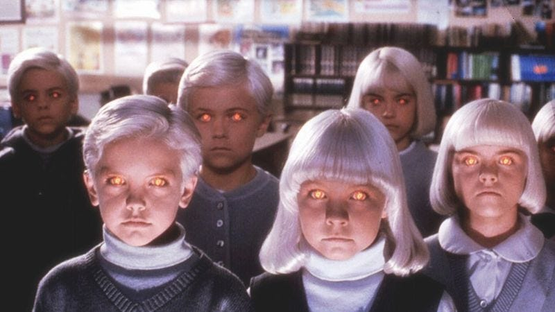 Those Village Of The Damned kids probably hated bedtime, too