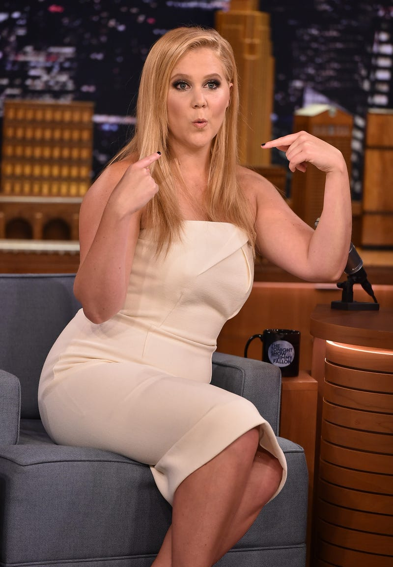 "Amy Schumer in 2015 Theo Wargo/NBC/Getty Images for ""The Tonight Show Starring Jimmy Fallon"