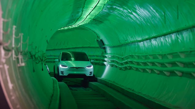 Like Riding on a Dirt Road : First Reviews of Elon Musk s Underground Tunnel Are Disappointing