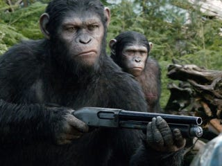 Illustration for article titled 10 Dawn Of The Planet Of The Apes Pics Raise Expectations Even Higher