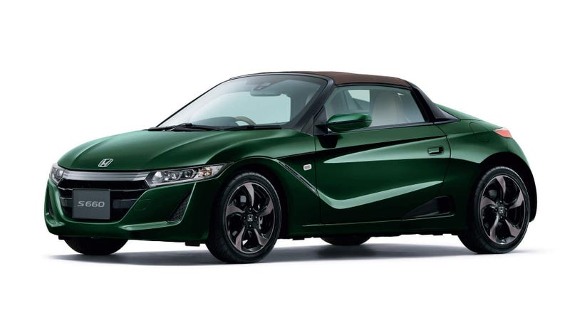 Illustration for article titled The Honda S660 Trad Leather Edition Is a Reminder That Cars Don't Have to Be Big to Be Classy