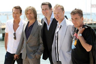 Illustration for article titled Spandau Ballet To Be First Intergalactic Band Aboard Branson's SpaceShipTwo Enterprise