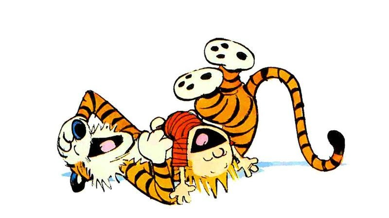 Illustration for article titled Here's exactly how much monetary damage Calvin and Hobbes did together