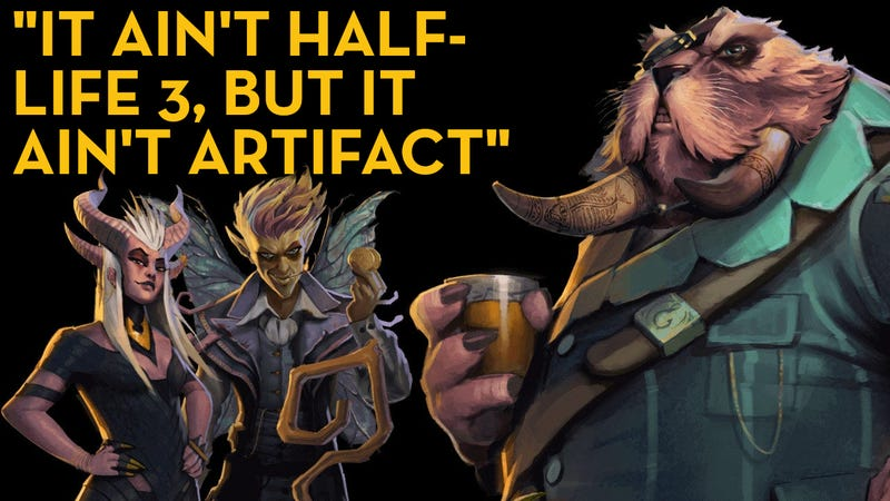Illustration for article titled Dota Underlords, As Told By Steam Reviews