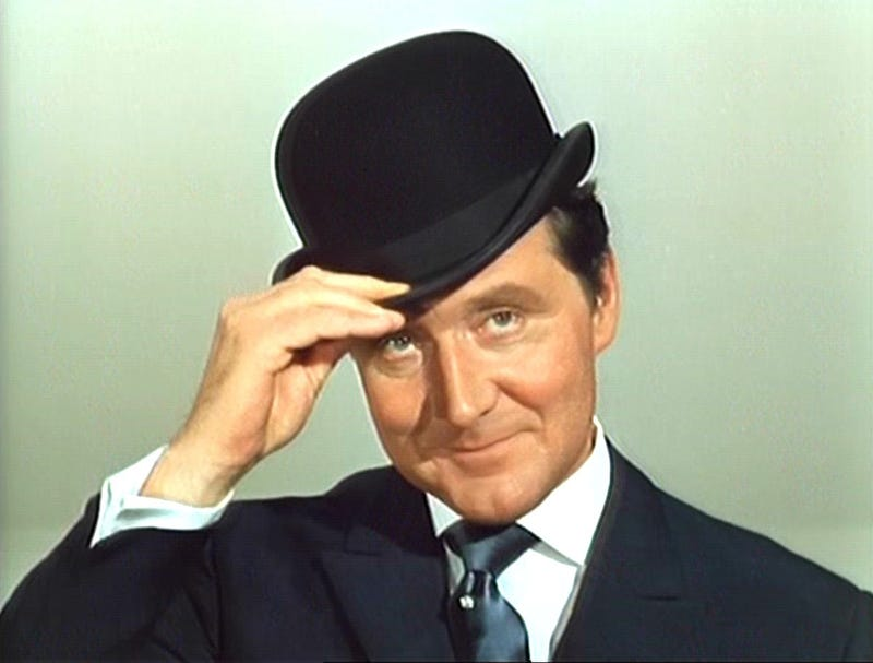 Illustration for article titled Patrick Macnee Proved A Gentleman Hero Could Treat Women As Equals