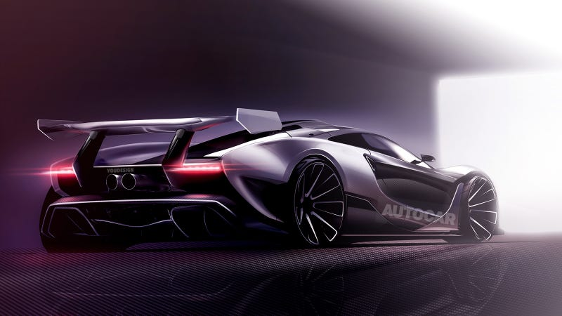 McLaren's Next Hypercar Will be Mental — No Surprise Here