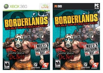 Illustration for article titled Borderlands DLC Gets Bundled, Burned To Add-On Pack Disc