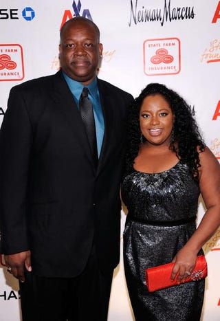 Sherri Shepherd and Lamar Sally attend the Steve Harvey Foundation Gala at Cipriani, Wall Street, on April 4, 2011, in New York City.  Dimitrios Kambouris/Getty Images for The Steve Harvey Foundation