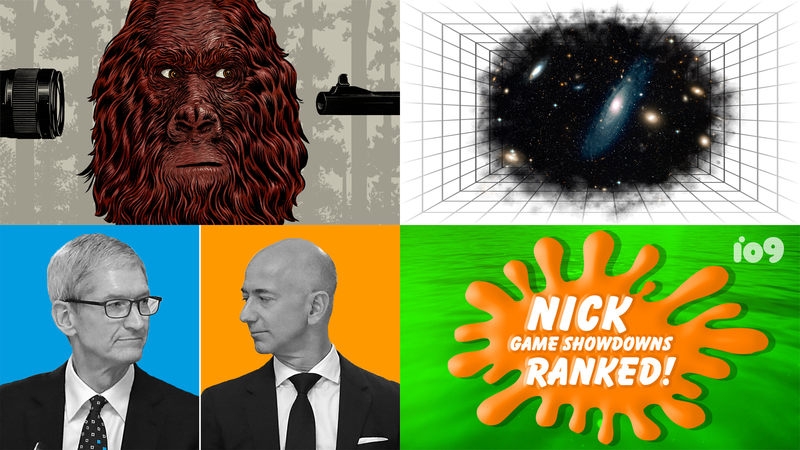 Illustration for article titled Feud Week, Dungeons & Dragons, Shooting Bigfoot, and IFA 2018: Best Gizmodo Stories of the Week