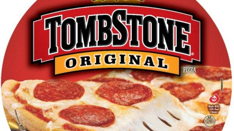 Illustration for article titled And now let us read from the Bible as if it were written about Tombstone Pizza