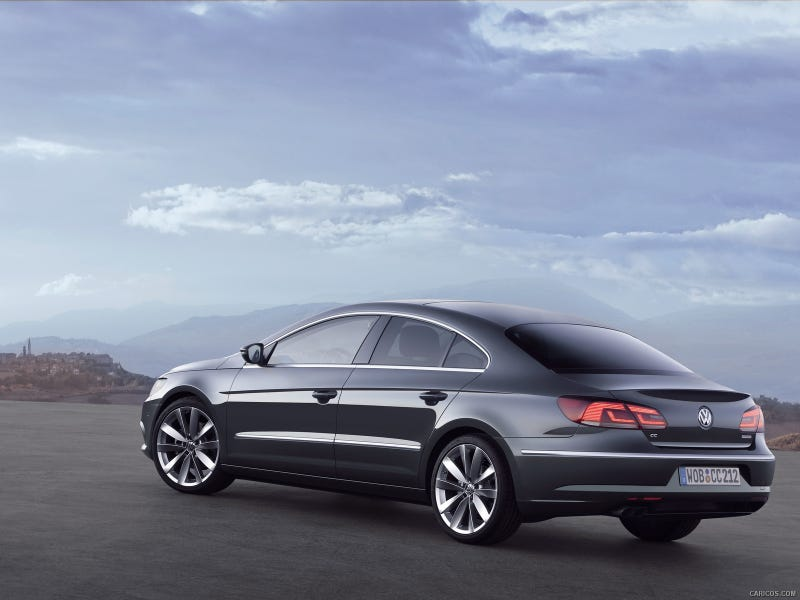 Illustration for article titled Saw a Subtly Stanced VW CC...