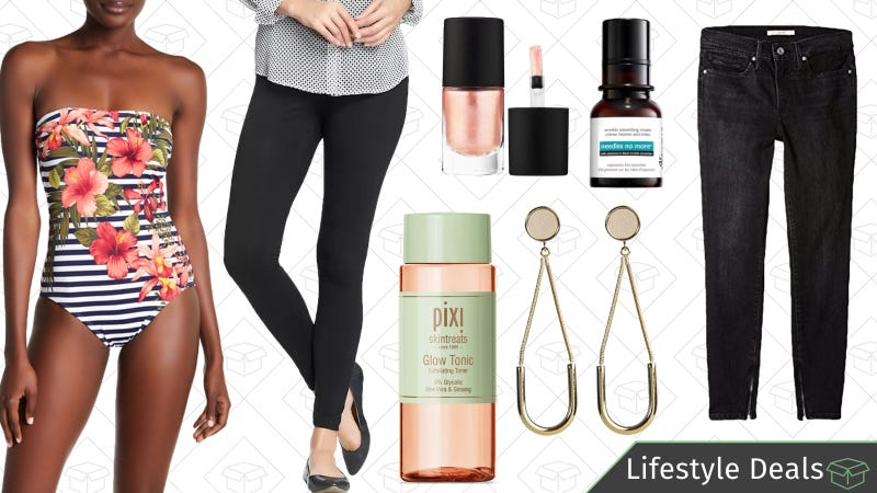 Illustration for article titled Thursday's Best Lifestyle Deals: Levi's, Old Navy Leggings, Pixi Beauty, and More