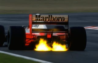 Illustration for article titled Ayrton Senna's High-Speed Exploits at Suzuka