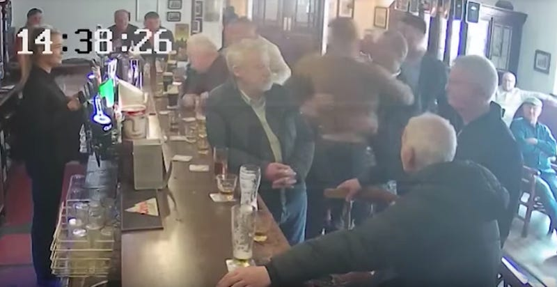 Illustration for article titled Conor McGregor Sucker-Punches Old Man After Whiskey Argument In Dublin Pub