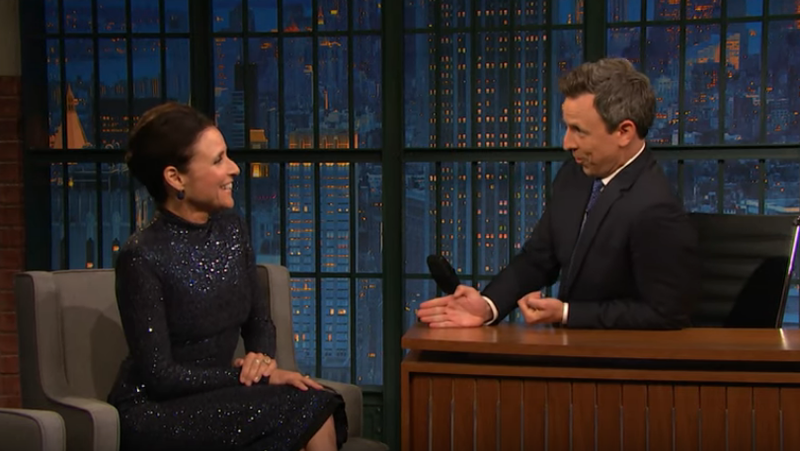Julia Louis-Dreyfus, Seth Meyers
