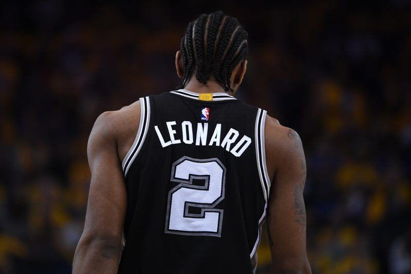 new product 2a8fa 60ebb Kawhi Leonard Traded From Spurs To Raptors For DeMar DeRozan ...