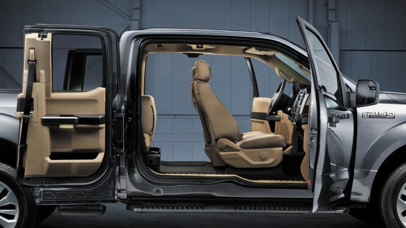 Illustration for article titled 2015 Ford F-150 Seats Perfected For Fat Americans