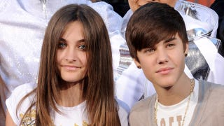 Illustration for article titled Justin Bieber and Paris Jackson Are Quite the Dashing Duo
