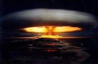 La devastadora potencia de las pruebas nucleares, en fotos