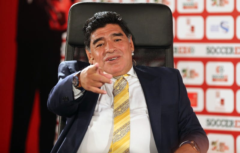 Illustration for article titled FIFA's Savior Has Thrown His Hat Into The Ring, And His Name Is Maradona