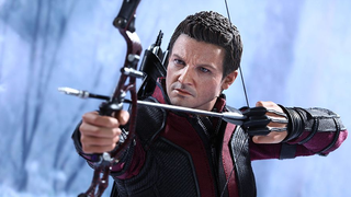 Illustration for article titled Hot Toy's Age Of UltronHawkeye Has Your Wallet In His Sights