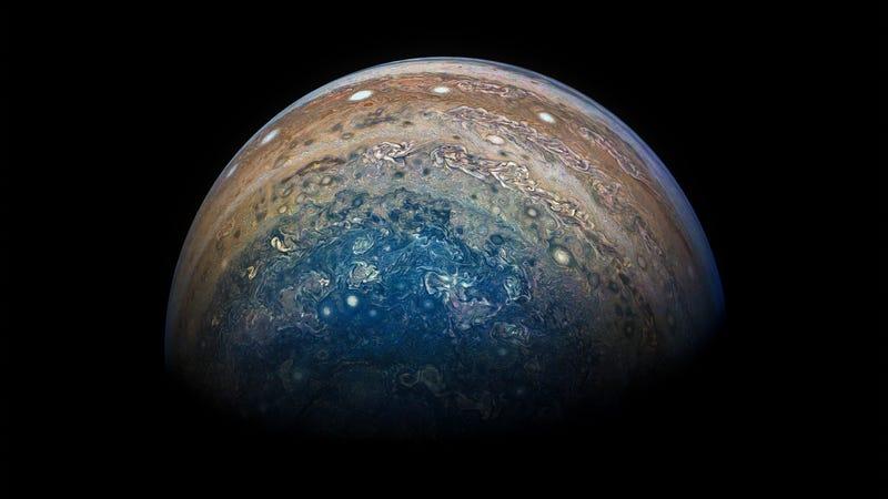 Imagen: NASA / SwRI / MSSS / Gerald Eichstädt / Seán Doran